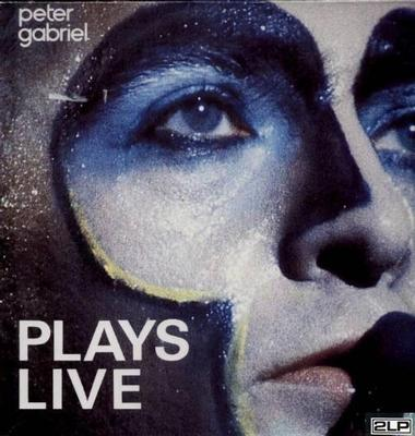 GABRIEL, PETER - PLAYS LIVE Double album, Dutch pressing (2LP)