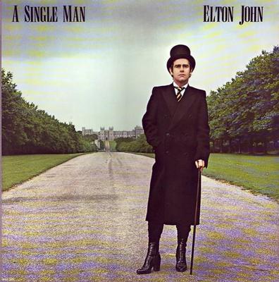JOHN, ELTON - A SINGLE MAN U.S. pressing (LP)