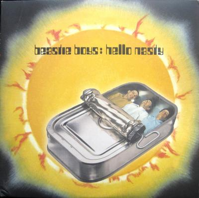 BEASTIE BOYS - HELLO NASTY US Original Pressign On Clear Gold Vinyl (2LP)