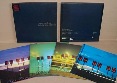 DEPECHE MODE - THE SINGLES 1986-1998 Rare UK 3LP box set, numbered! (3LP)