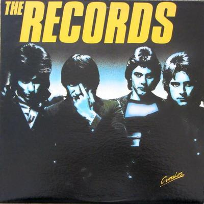RECORDS, THE - CRASHES Canadian pressing, insert (LP)