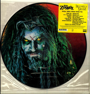 ZOMBIE, ROB - HELLBILLY DELUXE limited US original Picture disc !! (LP)