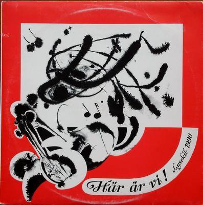 VARIOUS ARTISTS (POP / ROCK) - HÄR ÄR VI! LYSEKIL 1990 Rare Private Pressed School Record, With Insert (LP)