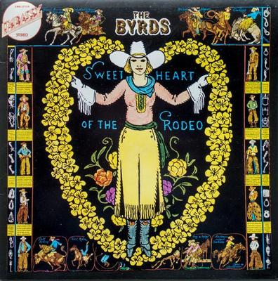 BYRDS, THE - SWEETHEART OF THE RODEO Dutch 1975 re-issue (LP)