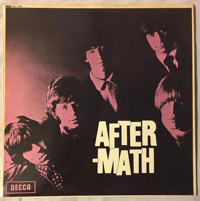 ROLLING STONES, THE - AFTERMATH Rare UK stereo original, blue unboxed labels (LP)