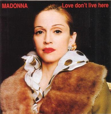 MADONNA - LOVE DON'T LIVE HERE Scarce remix compilation CD (CD)