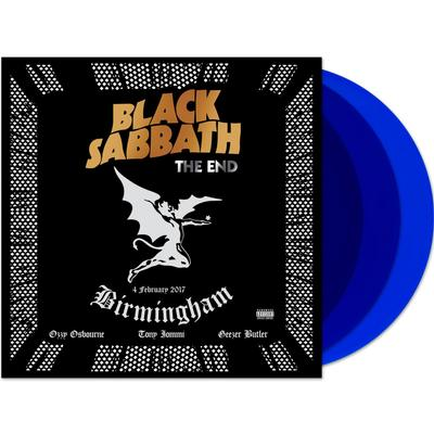 BLACK SABBATH - THE END-LIVE Triple LP, Translucent blue vinyl (3LP)