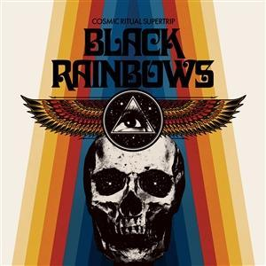 BLACK RAINBOWS - COSMIC RITUAL SUPERTRIP Black vinyl (LP)