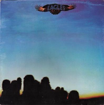 EAGLES - S/T U.S. 1976 re-issue (LP)