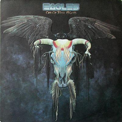 EAGLES - ONE OF THESE NGHTS U.S. pressing (LP)