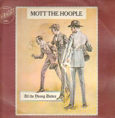 MOTT THE HOOPLE - ALL THE YOUNG DUDES Dutch 1975 re-issue (LP)