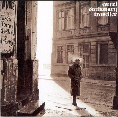 CAMEL - STATIONARY TRAVELLER UK original, with insert (LP)