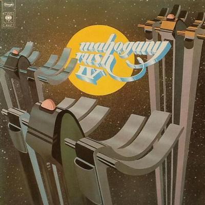 MAHOGANY RUSH - MAHOGANY RUSH IV Dutch pressing (LP)