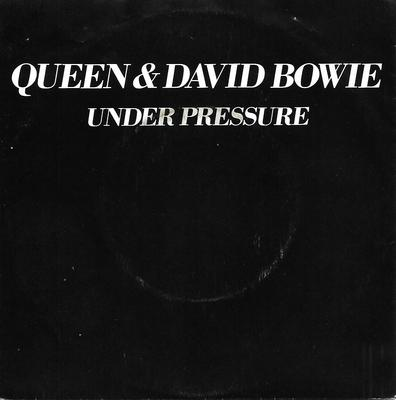 "QUEEN & DAVID BOWIE - UNDER PRESSURE / SOUL BROTHER Dutch ps (7"")"