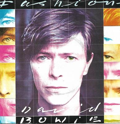 "BOWIE, DAVID - FASHION / SCREAM LIKE A BABY UK ps, push-out centre (7"")"