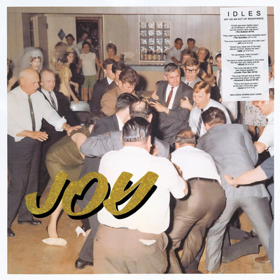 IDLES - JOY AS AN ACT OF RESTISTANCE Vinyl with download card (LP)
