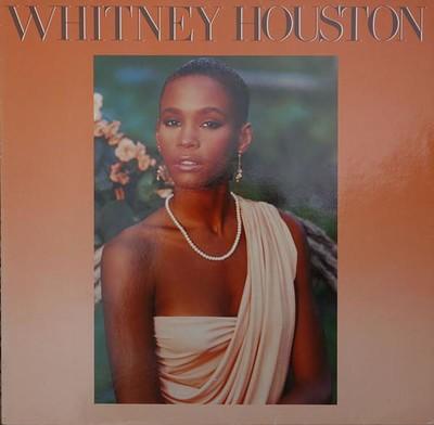 HOUSTON, WHITNEY - S/T Debut album, 1985, German pressing (LP)