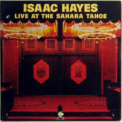 HAYES, ISAAC - LIVE AT THE SAHARA TAHOE U.S. double album (2LP)