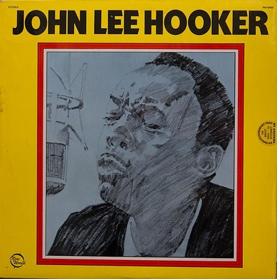 """HOOKER, JOHN LEE - S/T UK 1972 re-issue of """"And seven nights"""" (LP)"""
