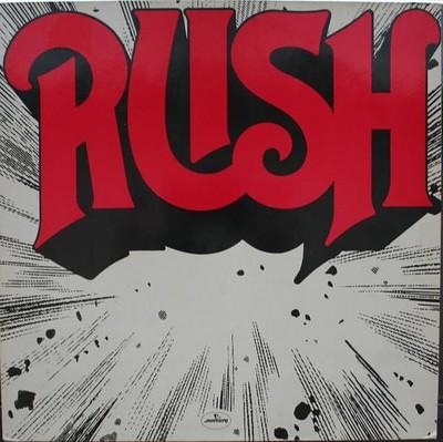 RUSH - S/T German re-issue, around 1980 (LP)