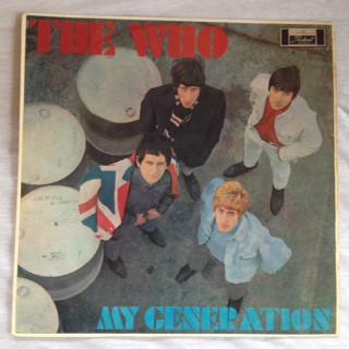 WHO, THE - MY GENERATION Rare Aussie edition (LP)