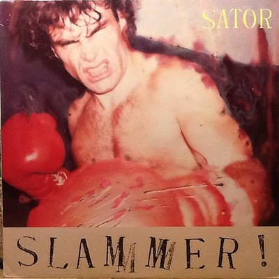 SATOR - SLAMMER! Swedish pressing, orange labels (LP)