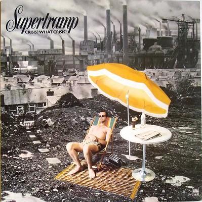 SUPERTRAMP - CRISIS? WHAT CRISIS? Swedish pressing (LP)