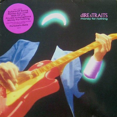DIRE STRAITS - MONEY FOR NOTHING 1988 compilation (LP)