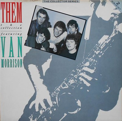 THEM - THE COLLECTION UK 1986 compilation, double album (2LP)