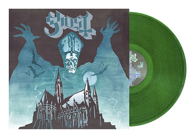 GHOST - OPUS EPONYMOUS 2020 Reissue in Green Sparkling vinyl (LP)