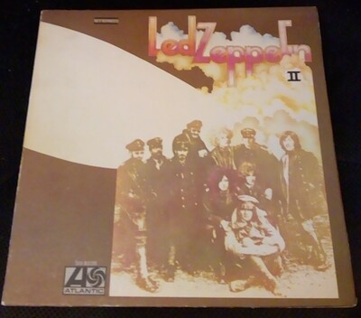 LED ZEPPELIN - II Very rare genuine U.S. 1st pressing, read! (LP)