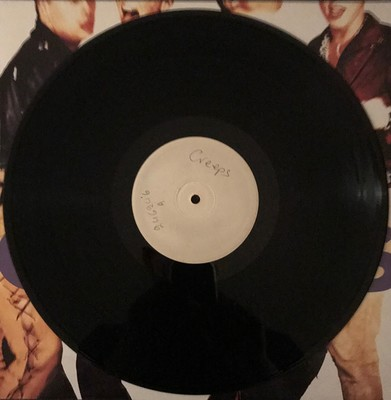 CREEPS, THE - BLUE TOMATO Testpressing, Greek catalogue number (LP)