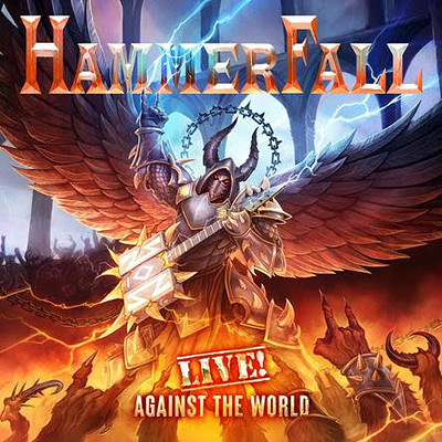 HAMMERFALL - LIVE! AGAINST THE WORLD Orange vinyl, gatefold (3LP)