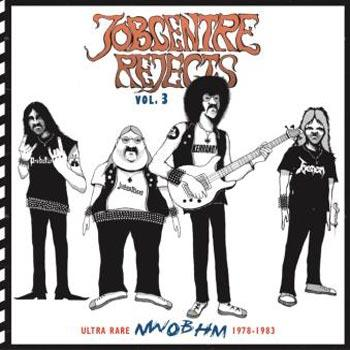 VARIOUS NWOBHM - JOBCENTRE REJECTS VOL. 3 - Ultra rare NWOBHM 1978-1983 CD with Bonus POSTER (CD)