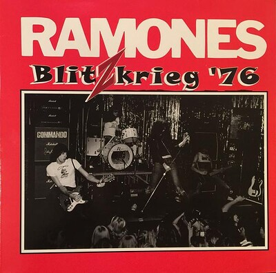 RAMONES - BLITZKRIEG '76 Live The Club, Boston, December 5 1976 (LP)