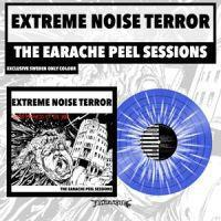 EXTREME NOISE TERROR - THE EARACHE PEEL SESSION, Swedish blue/white. 300x. (LP)