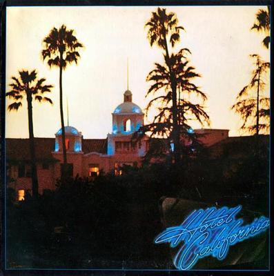 EAGLES - HOTEL CALIFORNIA U.S. original, gatefold sleeve, including poster (LP)