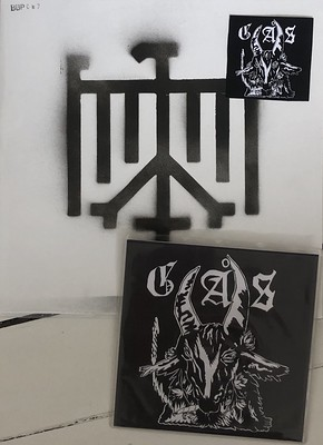 "GÅS - EPITAPH Limited Edition of 33 copies with handmade 12"" sleeve, poster & dimebag. (7"")"