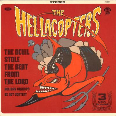 "HELLACOPTERS, THE - THE DEVIL STOLE THE BEAT FROM..+2 Swe. White Jazz (7"")"