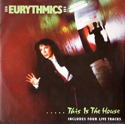 """EURYTHMICS - THIS IS THE HOUSE Rare and early UK 12"""" maxi (12"""")"""