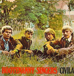 HOOTENANNY SINGERS - CIVILA Scarce album, top copy! (LP)