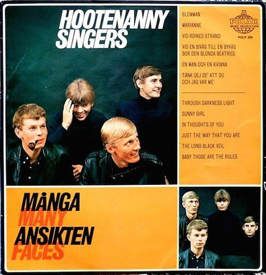 HOOTENANNY SINGERS - MÅNGA ANSIKTEN - MANY FACES Scarce album, unplayed copy! (LP)