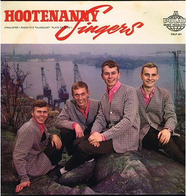 HOOTENANNY SINGERS - S/T Their debut album, 1964 (LP)