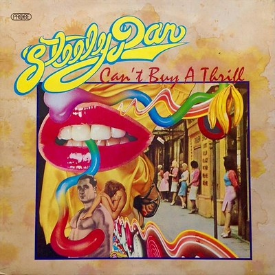 STEELY DAN - CAN'T BUY A THRILL UK original, pink labels (LP)