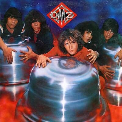 DMZ - S/T U.S. pressing, promo stamped (LP)