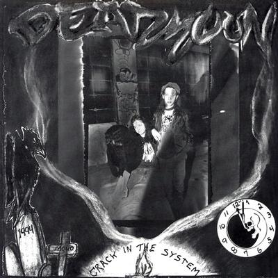 DEAD MOON - CRACK IN THE SYSTEM Unplayed copy, disc slightly warped but plays well (LP)