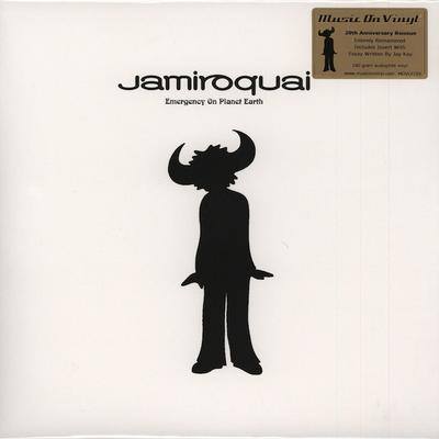 JAMIROQUAI - EMERGENCY ON PLANET EARTH European Deluxe Pressing With Insert (2LP)