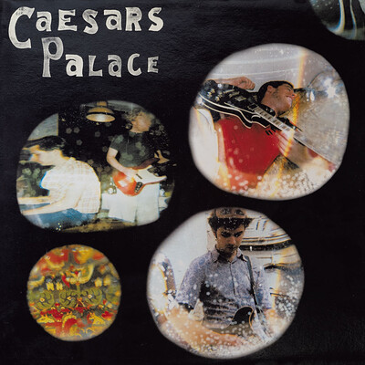 CAESARS PALACE - LOVE FOR THE STREETS Limited Edition 200 copies in coloured vinyl and with exclusive Fanzine (LP)