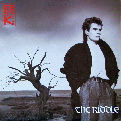 KERSHAW, NIK - THE RIDDLE Canadian pressing. Rare misprinted label! (LP)