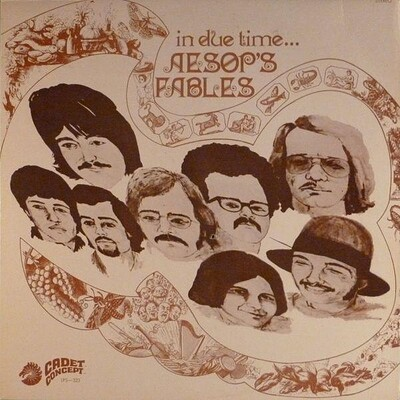 AESOP'S FABLES - IN DUE TIME U.S. pressing, 1969 Psych (LP)